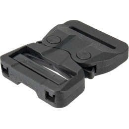Lancer Tactical Snap Buckle Fastener for Tactical Belts - BLACK