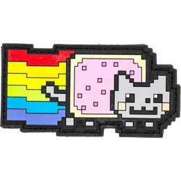 Aprilla Design PVC IFF Hook & Loop Pop Culture Patch (Nyan Cat)