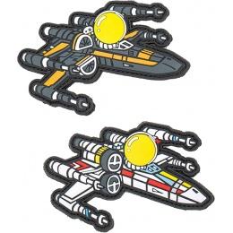 Aprilla Design PVC IFF Hook & Loop Pop Culture Patch (X-Wing Set)