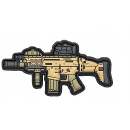 Aprilla Design PVC IFF Hook & Loop Modern Warfare Patch (SCAR-H)