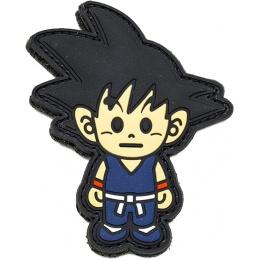 Aprilla Design PVC IFF Hook & Loop Pop Culture Patch (Goku)