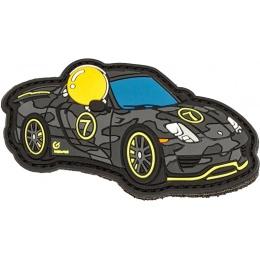 Aprilla Design PVC IFF Hook & Loop Automotive Patch (Porsche 918)