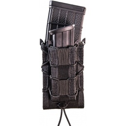 High Speed Gear Double Decker TACO Rifle/Pistol Mag Pouch - BLACK