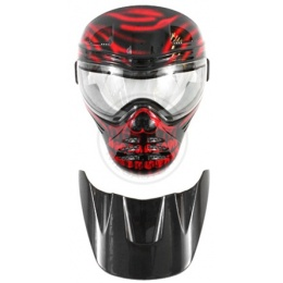 Save Phace Airsoft Diablo Full Face Tactical Mask w/ Clear Lens
