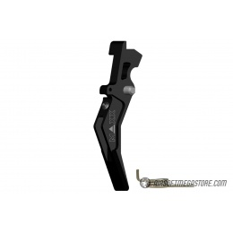Maxx Model CNC Aluminum Advanced AEG Trigger (Style B) - BLACK