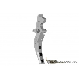 Maxx Model CNC Aluminum Advanced AEG Trigger (Style C) - SILVER