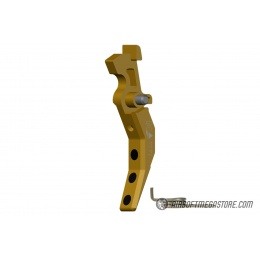 Maxx Model CNC Aluminum Advanced AEG Trigger (Style C) - DARK EARTH