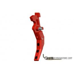 Maxx Model CNC Aluminum Advanced AEG Trigger (Style C) - RED