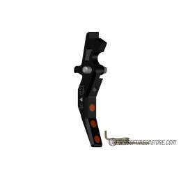 Maxx Model CNC Aluminum Advanced AEG Trigger (Style C) - BLACK