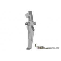 Maxx Model CNC Aluminum Advanced AEG Trigger (Style C) - SILVER