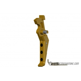Maxx Model CNC Aluminum Advanced AEG Trigger (Style E) - DARK EARTH