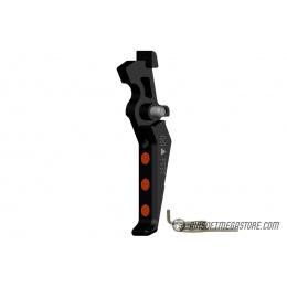 Maxx Model CNC Aluminum Advanced AEG Trigger (Style E) - BLACK