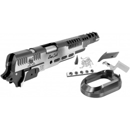 Airsoft Masterpiece Slide Kit DragonCat Open Slide Kit for Hi-Capa - TITANIUM GRAY