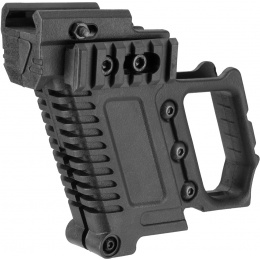Lancer Tactical Pistol Carbine Kit for G-Series Type GBB Pistols - BLACK