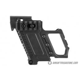 Lancer Tactical Pistol Carbine Kit for G-Series Type GBB Pistols - BLACK