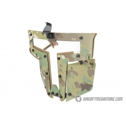 Armory T-shaped Windowed Attachment Face Mask For Bump Helmets - CAMO