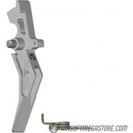 Maxx Model CNC Aluminum Advanced AEG Trigger (Style B) - SILVER