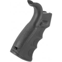 E&L Airsoft Enhanced Motor Grip for GBB M4 Airsoft Rifles - BLACK