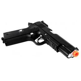 TSD M1911 Hard Kick Airsoft CO2 Blowback Pistol w/ Full Metal Slide