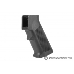E&L Airsoft Ergonomic Polymer M4 / M16 Airsoft AEG Motor Grip - BLACK