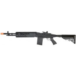 Lancer Tactical Airsoft M14 EBR AEG Full Metal w/ Crane Stock - BLACK