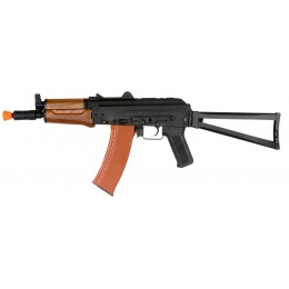 Lancer Tactical AK-74UN Full Metal Airsoft AEG Rifle - BLACK