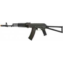 Lancer Tactical LT-740 AKS 101 AEG Full Metal w/ Side Folding Stock - BLACK