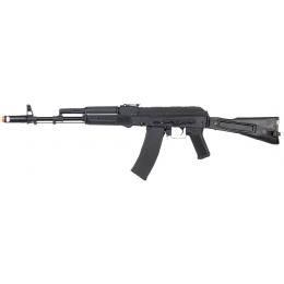 Lancer Tactical LT740C AEG CQB Full Metal Folding Stock - BLACK