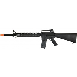 Lancer Tactical Full Metal M16A4 RIS DMR Airsoft AEG Rifle [w/ Battery & Charger]