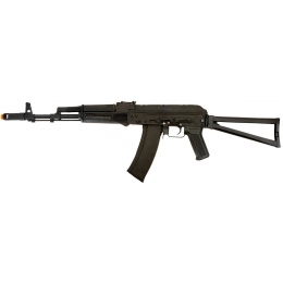 Lancer Tactical Airsoft AK-74 AEG Rifle Variant - BLACK