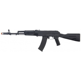 Lancer Tactical Full Metal AK104 Full Stock AEG - BLACK