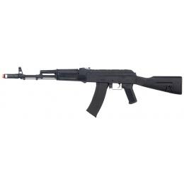 Lancer Tactical Full Metal AK104 Full Stock AEG - BLACK