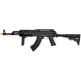 Lancer Tactical AK74 CPW Contractor Airsoft AEG Rifle - BLACK