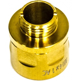 COWCOW A01 Stainless Steel Silencer Adaptor - GOLD