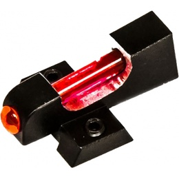 COWCOW Fiber Optic Trinity Aluminum Front Sight - RED