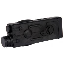 C69 PEQ2 Airsoft Battery Battery Box  w/ Picatinny Mount - BLACK