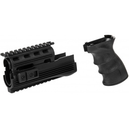 C49 Polymer Pistol Grip and Foregrip for AK AEGs