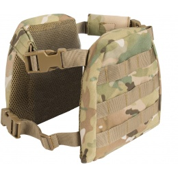 Lancer Tactical 1000D Nylon Youth MOLLE Vest w/ Battle Belt [S] - CAMO