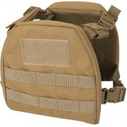Lancer Tactical 1000D Nylon Youth MOLLE Vest w/ Battle Belt [S] - TAN
