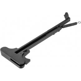 E&L Airsoft M4/M16 Full Metal Airsoft Charging Handle - BLACK