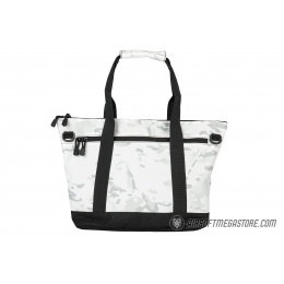 Lancer Tactical 1000D Nylon Tactical Tote Bag - SNOW CAMO