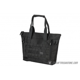 Lancer Tactical 1000D Nylon Tactical Tote Bag - BLACK