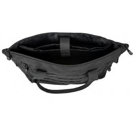 Lancer Tactical 1000D Nylon Tactical Tote Bag - BLACK