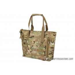 Lancer Tactical 1000D Nylon Tactical Tote Bag - CAMO