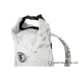 Lancer Tactical 1000D Nylon Tactical Barrel Backpack - SNOW CAMO