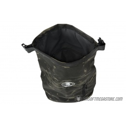 Lancer Tactical 1000D Nylon Tactical Barrel Backpack - CAMO BLACK