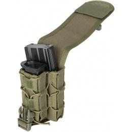 Lancer Tactical 1000D Nylon QD Buckle Pistol/Rifle Mag Pouch - OD GREEN