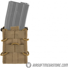 Lancer tactical Single MOLLE Magazine Pouch for M4 / M16 - TAN