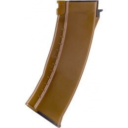 E&L Airsoft 120rd Mid Capacity Magazine for AK AEGs - BROWN
