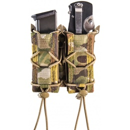 High Speed Gear Triple TACO pouches for GBB Airsoft Pistols - MULTICAM